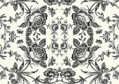 Обои Paper&Ink Black&White BW21610